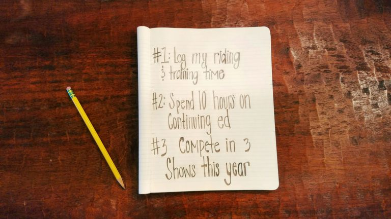 Goal Setting – 3 Things I'm Going to do in 2018